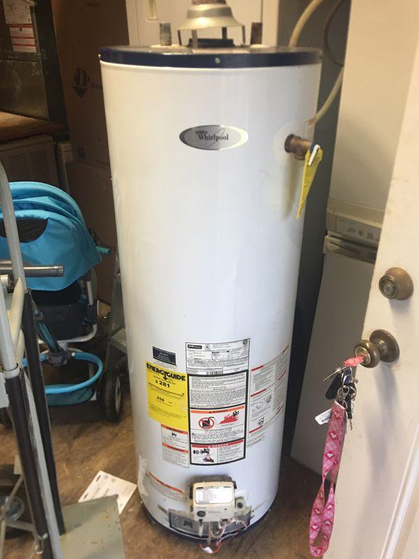 40 gal gas water heater