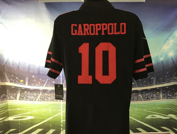huge discount 4f942 c286a San Francisco 49ers #10 Jimmy Garoppolo Nike Black Alternate Game Jersey  for Sale in Elk Grove, CA - OfferUp
