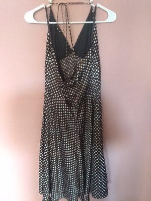 Black white tan dot dress for Sale in Martinez, CA