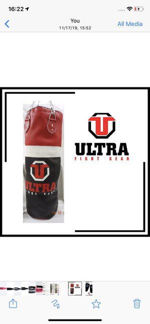 Boxing punching bag 90x30 for Sale in The Woodlands, TX