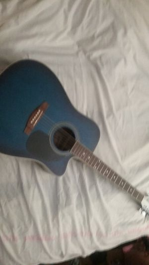 BROWNSVILLE,SINGLE CUTAWAY ACOUSTIC/ELECTRIC GUITAR W/VOLUME & EQUILIZER for Sale in Norwalk, CA