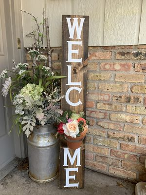 Welcome Planter Sign for Sale in Minneapolis, MN