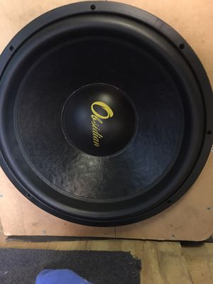 Obsidian audio 15 dual 2ohm sub for Sale in Herndon, VA
