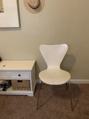 White Modern Desk Chair for Sale in San Diego, CA