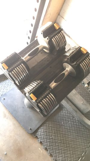 Golds gym weights for Sale in Tempe, AZ