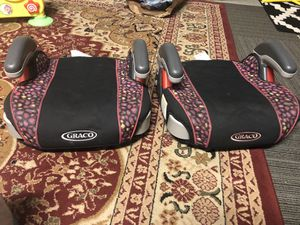 Two car booster seats for Sale in Pittsburg, CA