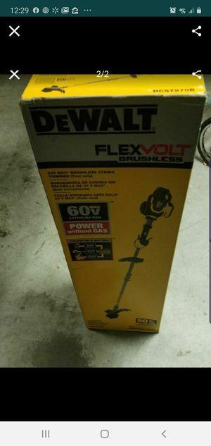 Dewalt weedwacker 60V bare tool FlexVolt for Sale in Eagle Lake, FL