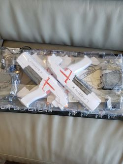 Laser X 4 Blasters for 4 Players Real-Life Laser Gaming Experience New Version for Sale in San Jose,  CA