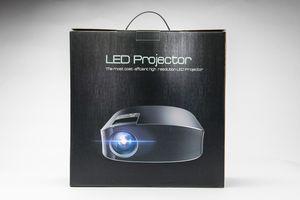 Projector 6000 Lux HD, HDMI, VGA, AV and USB, Black for Sale in Schaumburg, IL