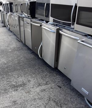 BEAUTIFUL STAINLESS STEEL DISHWASHERS AND MICROWAVES 100 AND UP for Sale in West Palm Beach, FL