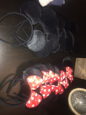 mickey ears for Sale in Fort Lauderdale, FL
