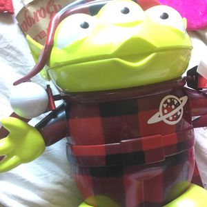 Disneyland/California adventure Toy story Alien Christmas Popcorn Bucket for Sale in Turlock, CA