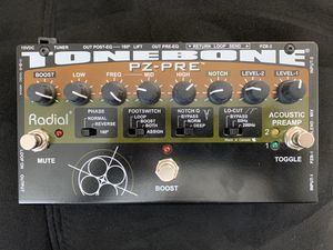 Radial Tonebone PZ-Pre 2-channel Acoustic Instrument Preamp for Sale in Los Angeles, CA