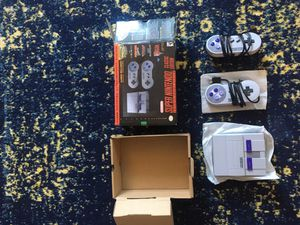 Super Nintendo Classic edition. for Sale in Seattle, WA