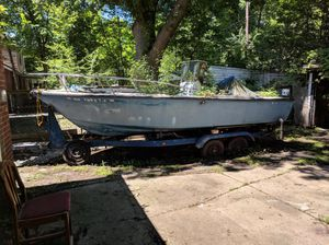 Sea craft boat and trailer for Sale in Shaker Heights, OH