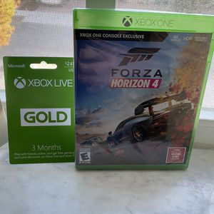 Forza horizon 4 & Xbox Live 3 Months BRAND NEW for Sale in Miami, FL
