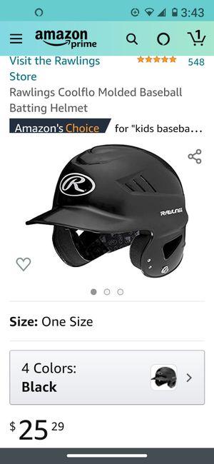 Rawlins black baseball batting helmet for Sale in Chandler, AZ