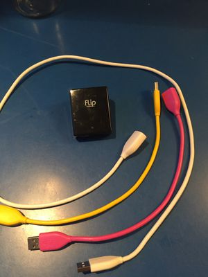 Flip Video Cable and Charger for Sale in Boston, MA