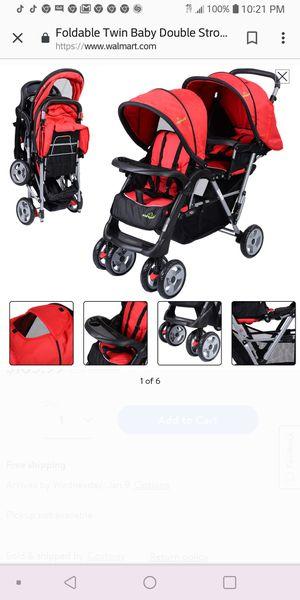 Buy buy baby double stroller for Sale in Blackwood, NJ