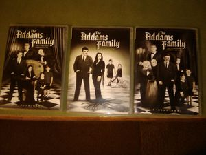 The Adams Family, the complete series, 64 episodes, extras, 9 2 sided DVDs, excellent condition for Sale in Columbus, OH