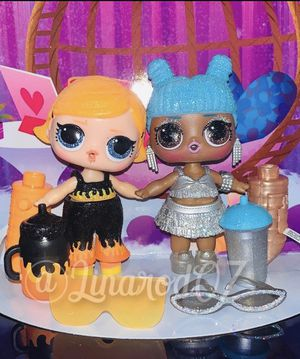 TWO Dolls NEW Fire 🔥 & Ice 🧊 LOL Surprise Dolls for Sale in Miami, FL