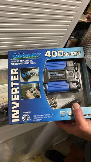 400 Watt Inverter for Sale in Little Elm, TX