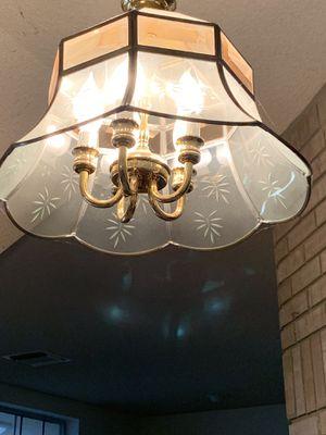 Glass chandelier for Sale in Bakersfield, CA