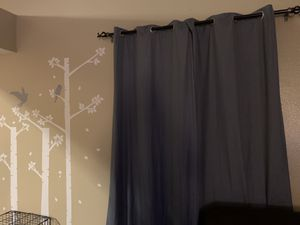 Eclipse blackout curtains 6 total for Sale in Albuquerque, NM