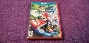 MARIO KART 8 WII U GAME COMPLETE for Sale in Missouri City, TX