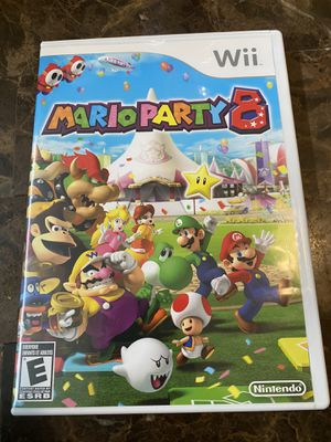 Mario Party 8 Nintendo Wii Complete nice for Sale in West Dundee, IL