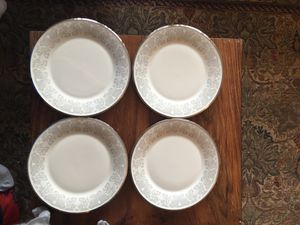 Set of 4 Lenox Show Lily Dinner Plates for Sale in Alexandria, VA