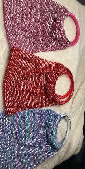 3 mini purses with 3 mask for Sale in Miami Gardens, FL