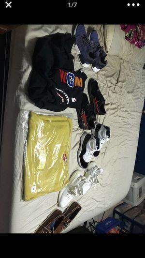 Supreme bape yeezy Jordan Nike addidas for Sale in North Smithfield, RI