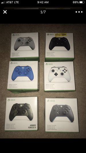 Xbox One S Bluetooth Controller - New Opened Box for Sale in Sunnyvale, CA
