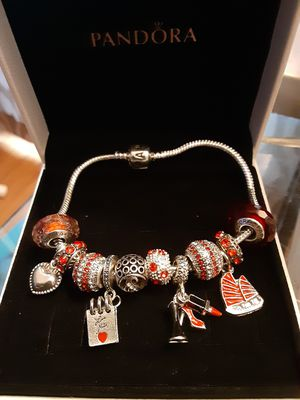 Pandora Bracelet with Charms!! for Sale in Dearborn, MI