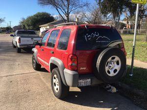 2002 Jeep Liberty for Sale in Dallas, TX