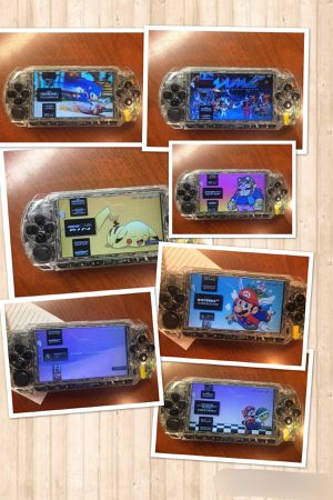 Rare transparent Modded Psp 128gb Psp, Psx, NES, SNES, Genesis, GBA, Mame And Minis for Sale in Bellevue, WA