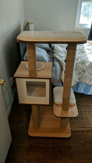 Cat Tree, scratching post, hidy hole for Sale in Rockville, MD
