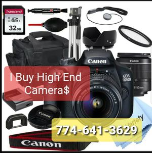 CANNON High definition CAMERAS Black for Sale in Worcester, MA