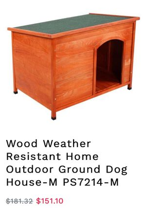 New wooden doghouse for Sale in Rancho Cucamonga, CA