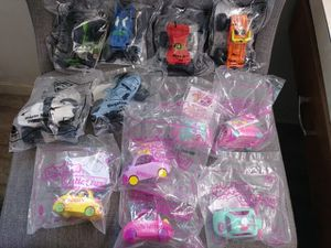 MONSTER JAM HAPPY MEAL TOYS & SHOPKINS CUTIE CAR CARS for Sale in Peoria, IL