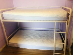 Twin White Loft Bed Only! for Sale in Rancho Cucamonga, CA