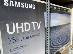 "75"" samsung smart 4k tv for Sale in Anaheim, CA"