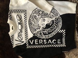Black and white Versace sweater for Sale in Washington, DC