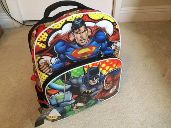DC Superhero back pack