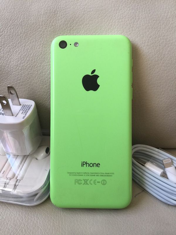 iPhone 5c- Excellent Condition, Factory Unlocked, clean IMEI