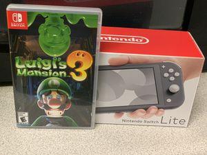 Nintendo Switch Lite/Luigi for Sale in Washington, DC