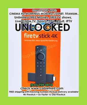 All new 4k fire TV stick for Sale in New York, NY