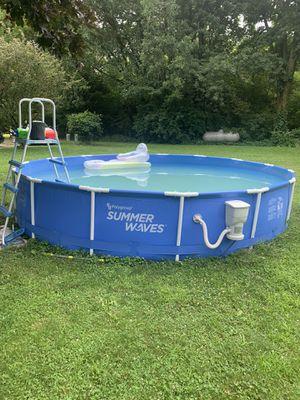 15 Foot Summer Waves Pool for Sale in Otisville, MI