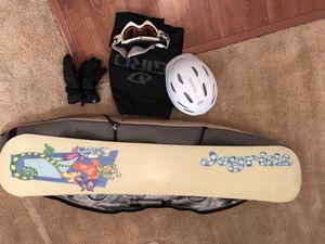 Fully loaded burton snowboard for Sale in Santa Clarita, CA